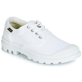 Sko Lave sneakers Palladium PAMPA OX ORIGINALE Hvid