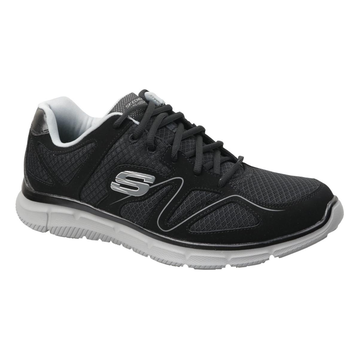 Sneakers Skechers  Satisfaction 58350-BKGY