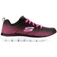 Sko Børn Lave sneakers Skechers Skech Appeal 2.0 81662L-BKHP black, pink