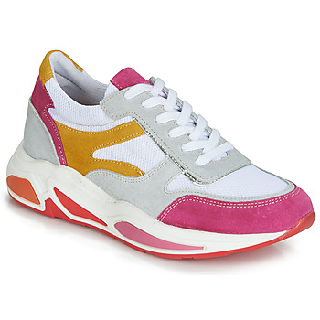 Sko Dame Lave sneakers André ROLLO Hvid / Pink