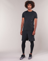 textil Herre Leggings Under Armour RUSH LEGGING Sort