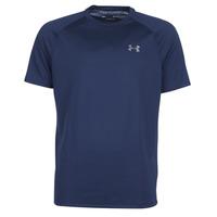 textil Herre T-shirts m. korte ærmer Under Armour TECH 2.0 SS TEE Marineblå