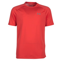 textil Herre T-shirts m. korte ærmer Under Armour TECH 2.0 SS TEE Rød