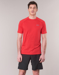textil Herre T-shirts m. korte ærmer Under Armour TECH 2.0 SS TEE Rød