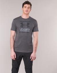textil Herre T-shirts m. korte ærmer Under Armour GL FOUNDATION SS Grå / Antracit