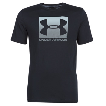 textil Herre T-shirts m. korte ærmer Under Armour BOXED SPORTSTYLE Sort