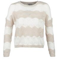 textil Dame Pullovere Only ONLKARO Beige / Beige