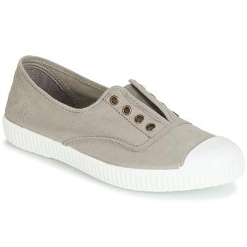 Sko Dame Lave sneakers Victoria 6623 GRIS Grå