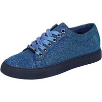 Sko Dame Lave sneakers Sara Lopez sneakers blu tessuto BT995 Blu