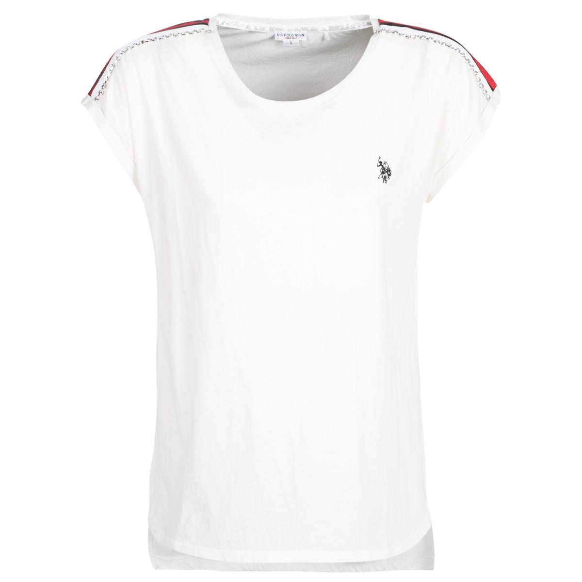 T-shirts m. korte ærmer U.S Polo Assn.  JEWELL TEE SS