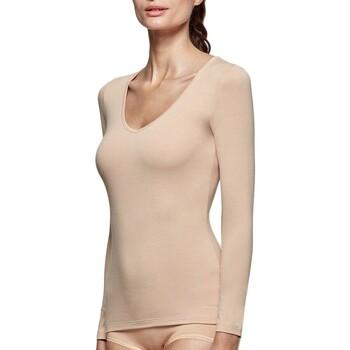 textil Dame Langærmede T-shirts Impetus Innovation Woman 8361898 144 Beige