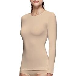 textil Dame Langærmede T-shirts Impetus Innovation Woman 8368898 144 Beige