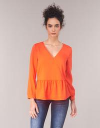 textil Dame Toppe / Bluser Vila VIROSSIE Orange