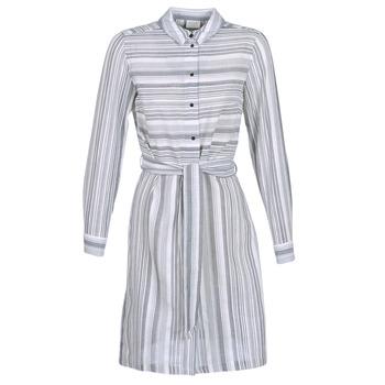 textil Dame Korte kjoler Vila VINAVIDA Hvid / Blå