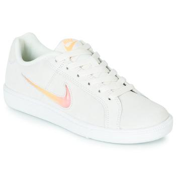 Sko Dame Lave sneakers Nike COURT ROYALE PREMIUM W Hvid / Orange