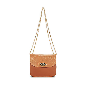 Tasker Dame Skuldertasker Betty London JOLEIL Cognac