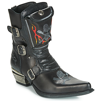 Sko Herre Chikke støvler New Rock M-WST024-S3 Sort