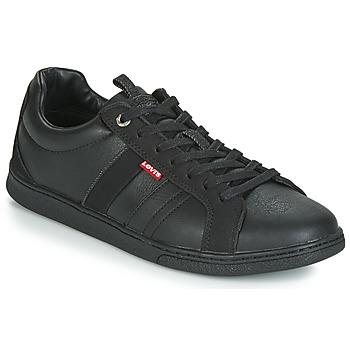 Sko Herre Lave sneakers Levi's TULARE Sort