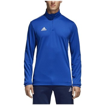 textil Herre Langærmede T-shirts adidas Originals Core 18 Training Top Blå