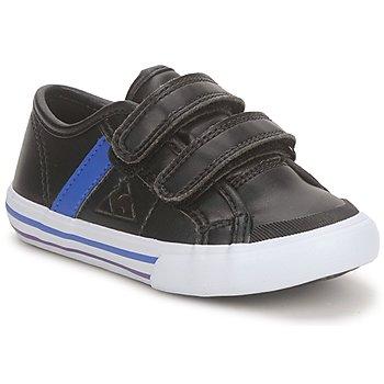 Sko Dreng Lave sneakers Le Coq Sportif SAINT MALO Sort / Blå