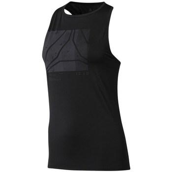 textil Dame Toppe / T-shirts uden ærmer Reebok Sport OS AC Graphic Tank Sort