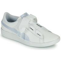 Sko Børn Lave sneakers Puma VIKKY RIB PS BL Hvid