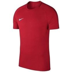 textil Dreng T-shirts m. korte ærmer Nike Academy 18 Junior Rød