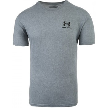 textil Herre T-shirts m. korte ærmer Under Armour Sportstyle Left Chest Grå