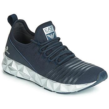 Sko Herre Lave sneakers Emporio Armani EA7 ULTIMATE C2 SLIP ON U Blå