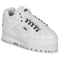 Sko Dame Lave sneakers Fila TRAILBLAZER WEDGE WMN Hvid