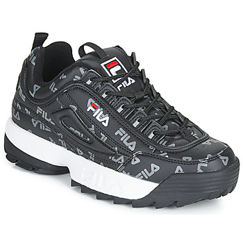 Sko Dame Lave sneakers Fila DISRUPTOR LOGO LOW WMN Sort