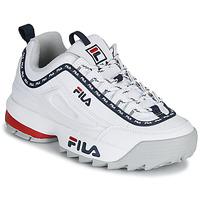 Sko Dame Lave sneakers Fila DISRUPTOR LOGO LOW WMN Hvid