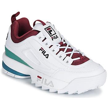 Sko Dame Lave sneakers Fila DISRUPTOR  CB LOW WMN Hvid
