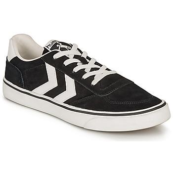 Sko Lave sneakers Hummel STADIL 3.0 SUEDE Sort / Hvid
