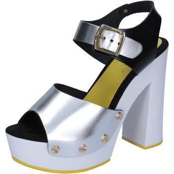 Sko Dame Højhælede sko Suky Brand Sandaler BS16 Sølv