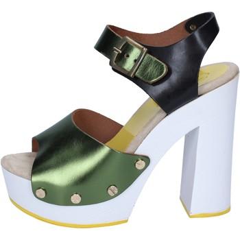 Sko Dame Højhælede sko Suky Brand Sandaler BS18 Grøn