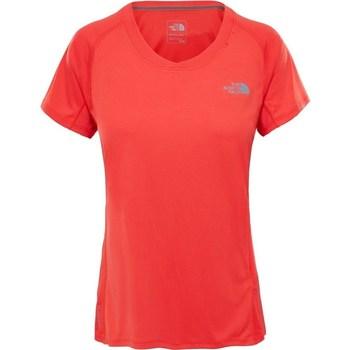 textil Dame T-shirts m. korte ærmer The North Face Tshirt Ambition Orange