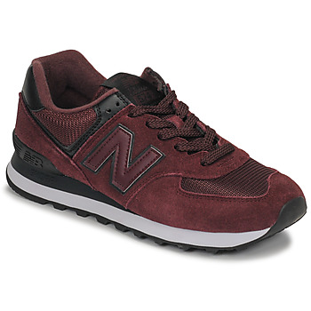 Sko Dame Lave sneakers New Balance 574 Bordeaux