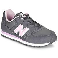 Sko Pige Lave sneakers New Balance 373 Grå / Pink
