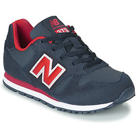 Sko Dreng Lave sneakers New Balance 373 Blå / Rød