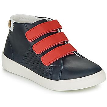 Sko Pige Lave sneakers Faguo ASPENLOW LEATHER Blå