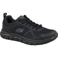 Sko Herre Lave sneakers Skechers Track-Scloric 52631-BBK