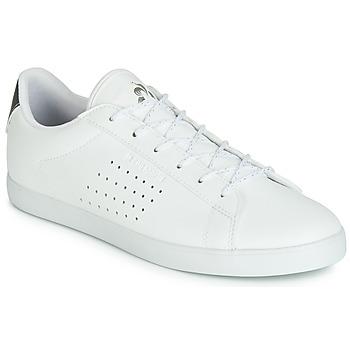 Sko Dame Lave sneakers Le Coq Sportif AGATE PREMIUM Hvid / Sølv