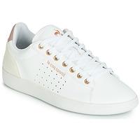 Sko Dame Lave sneakers Le Coq Sportif COURTSTAR W BOUTIQUE Hvid / Pink
