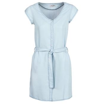 textil Dame Korte kjoler Yurban kOULIENNE Blå / Lys