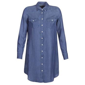 textil Dame Korte kjoler Yurban kOULIOTE Blå / Mørk