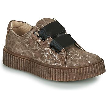 Sko Pige Lave sneakers Catimini CAVANILLE Brun