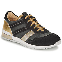 Sko Pige Lave sneakers Catimini CAMELINE Sort / Guld