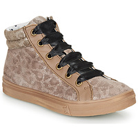 Sko Pige Høje sneakers Catimini CALENDULE Leopard