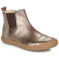 Sko Pige Støvler GBB ONAO Bronze / Muldvarpegrå